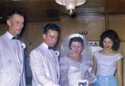 1950s Wedding Party