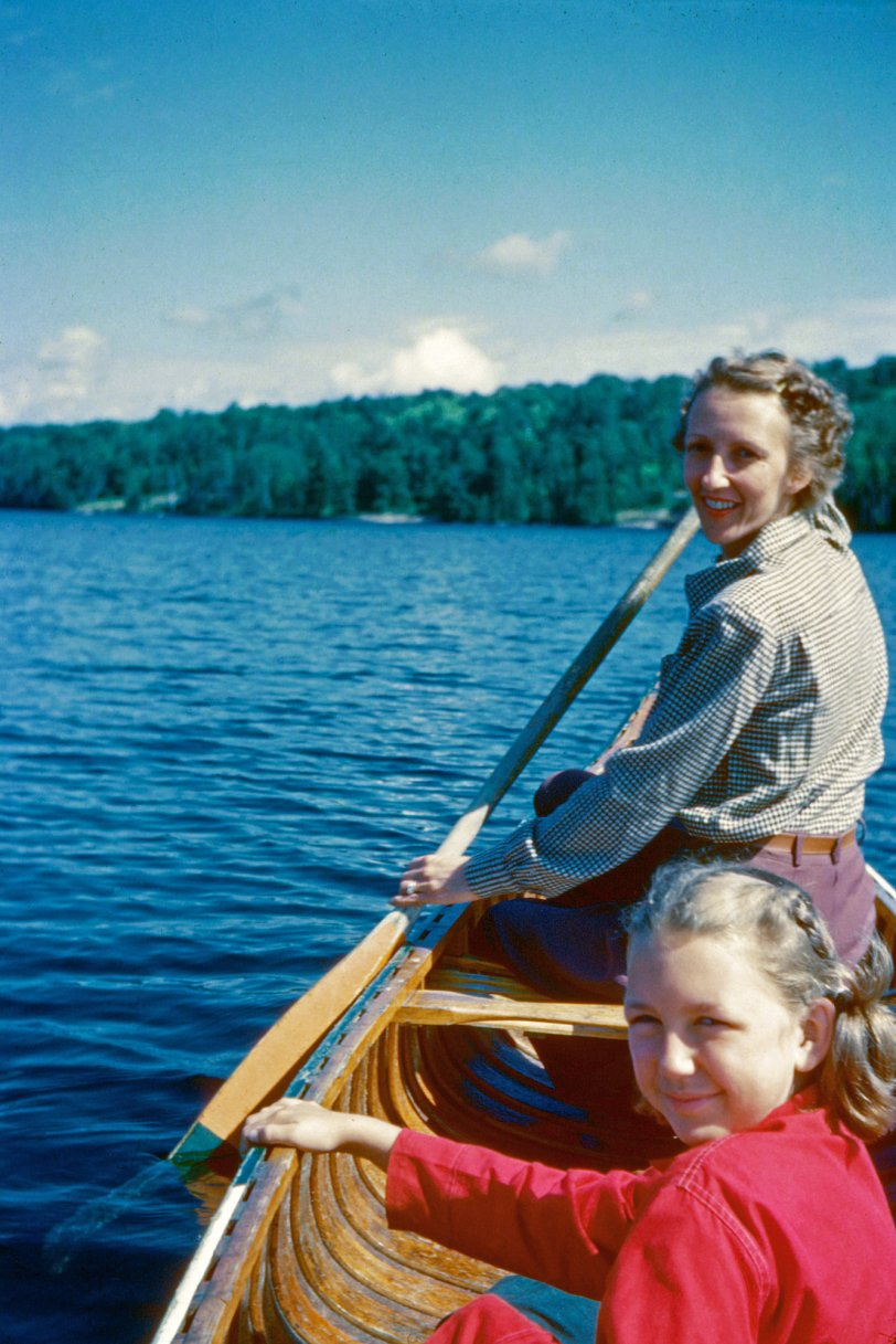 Two to Canoe: 1952