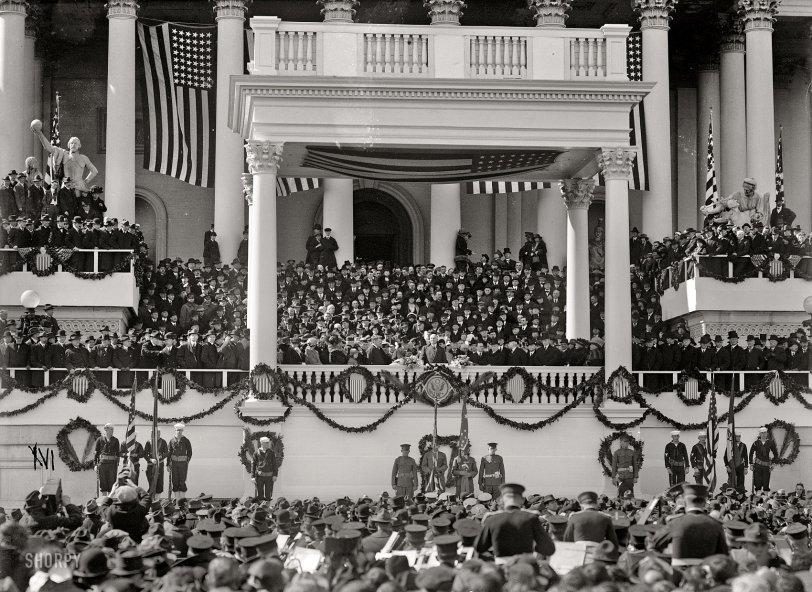The New President: 1921