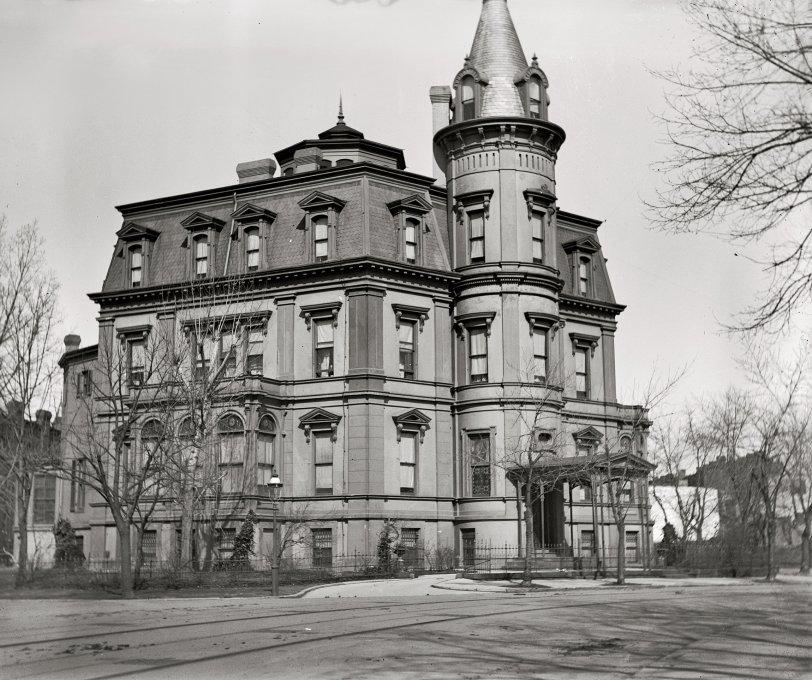 Stewart's Castle: 1900