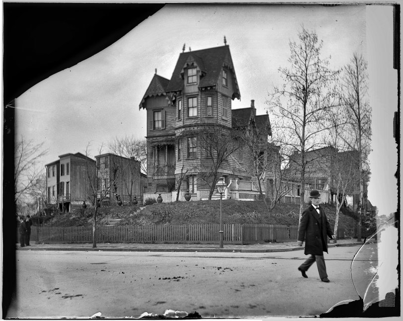 This Old House 1918 Shorpy Old Photos Poster Art