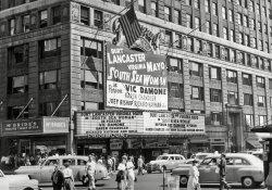 Paramount Theatre, NYC: 1953