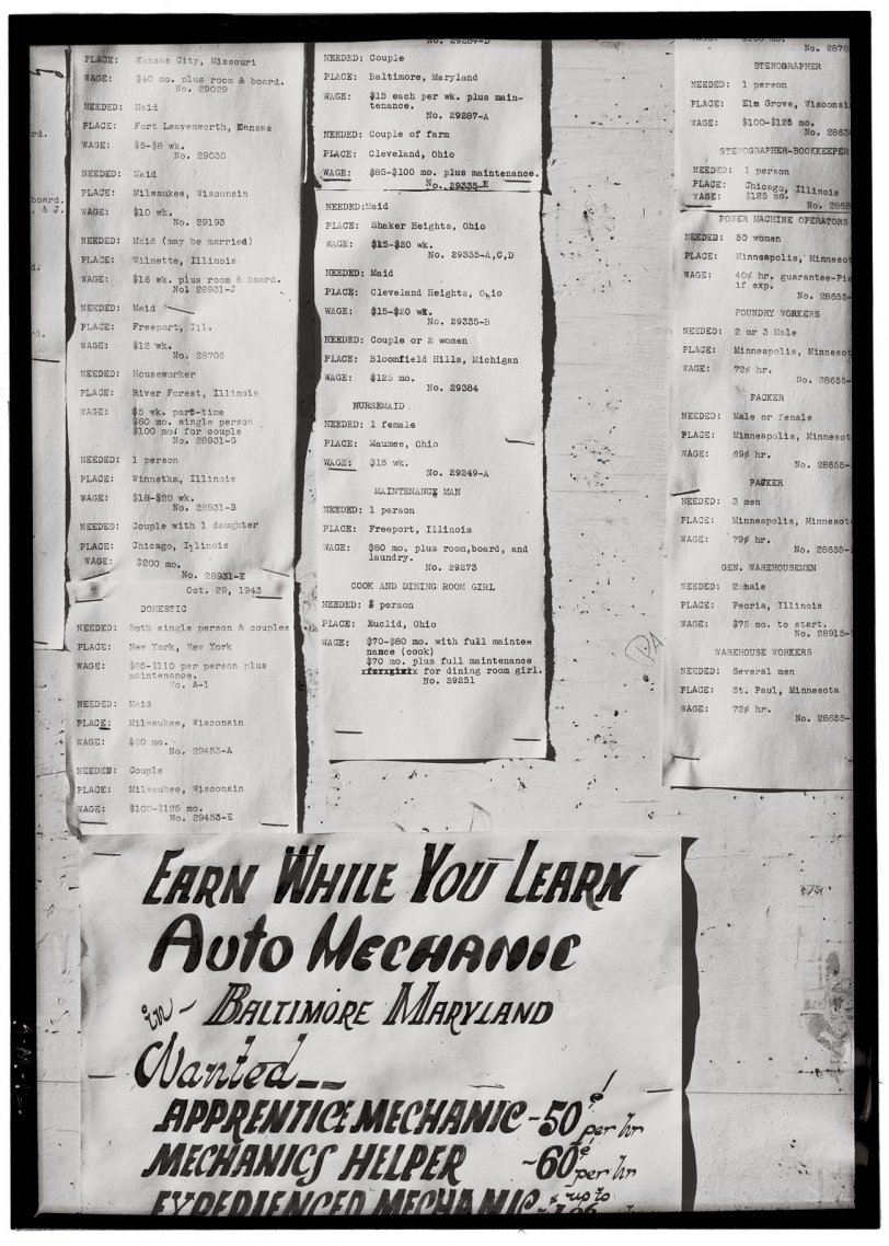 Help Wanted: 1943