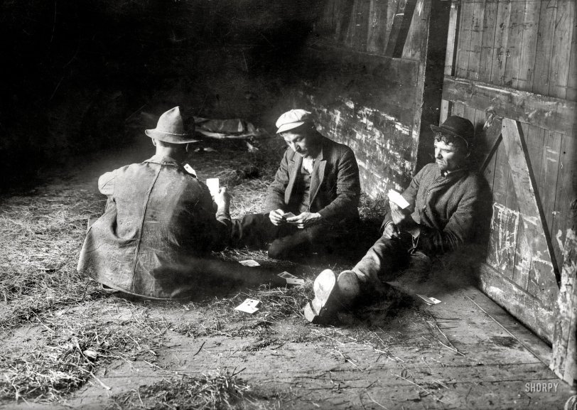 Hobo Life: 1915