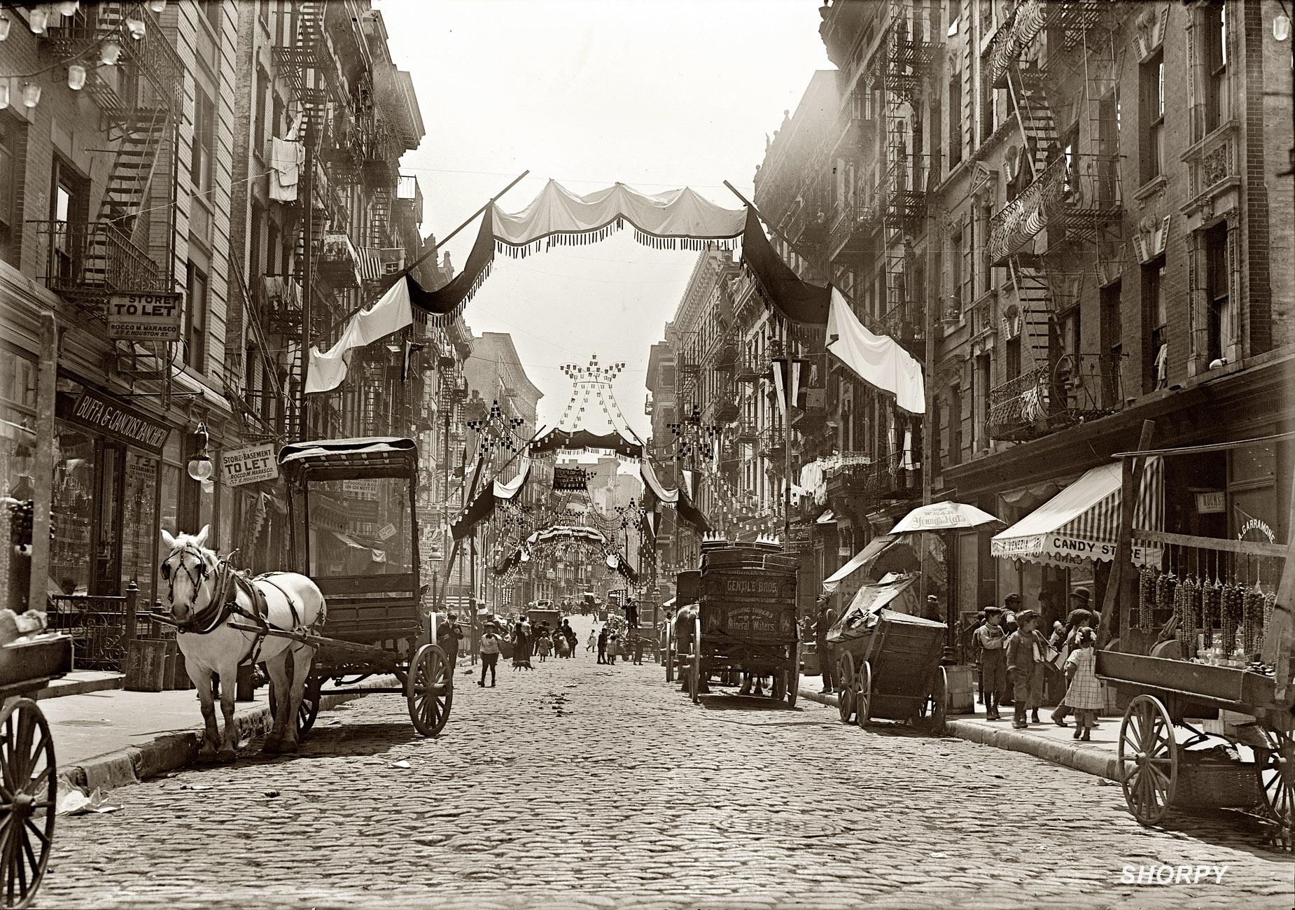 Shorpy Historic Picture Archive Italian Festa 1908