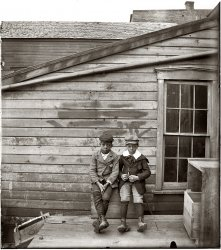 Clarence and Alonzo: 1900