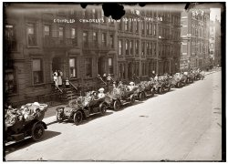 Crippled Children's Auto Outing: 1908