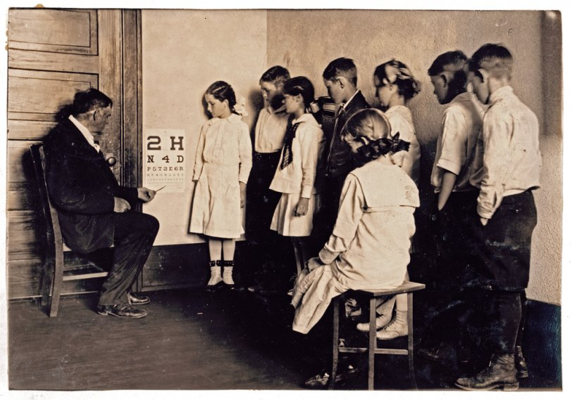 Eye Exam: 1917