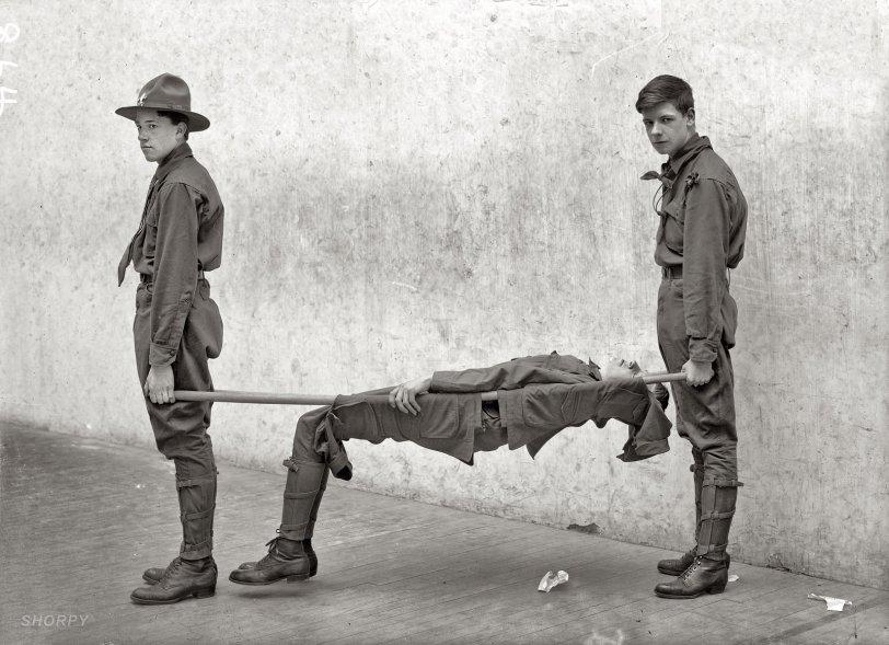 One Marshmallow Too Many: 1912