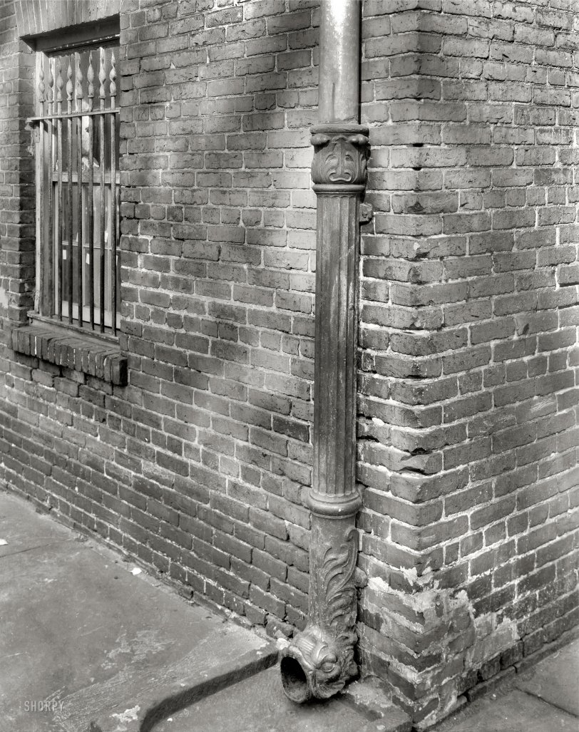 Fancy Drainpipe: 1937