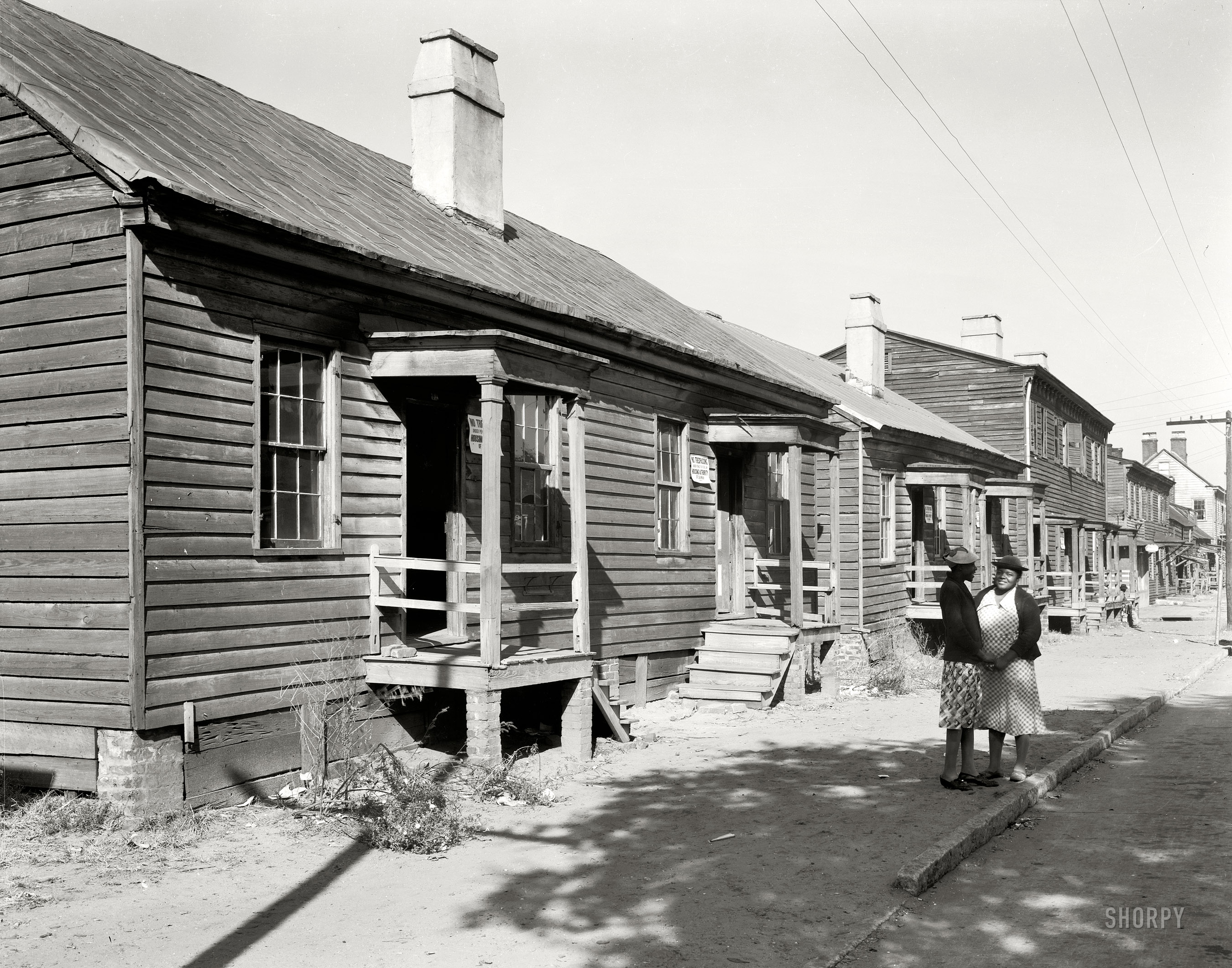 Shorpy Historic Picture Archive :: Condemned: 1939 high ...
