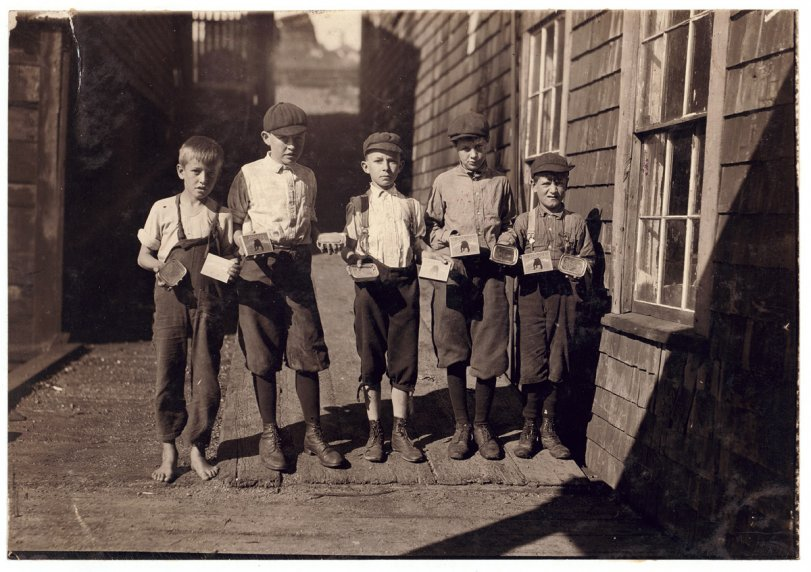 Cartoners, Eastport: 1911