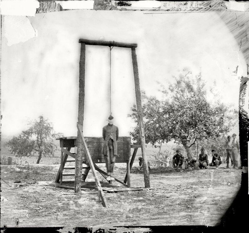 Hanged: 1864
