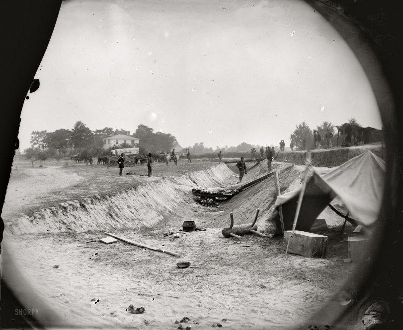 Near Dunn's House: 1864