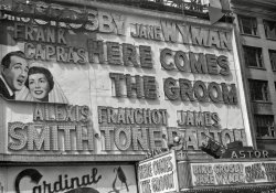 Astor Theatre Marquee: 1951