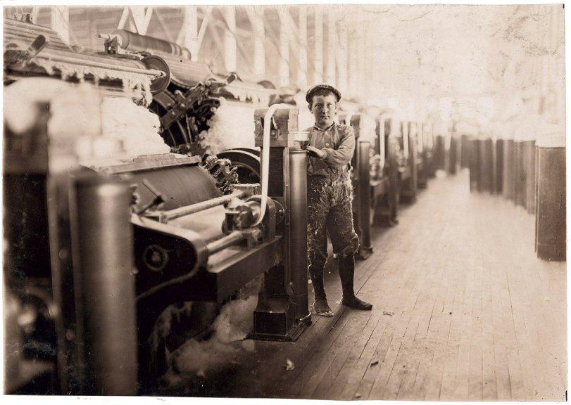Boy Sweeper: 1908