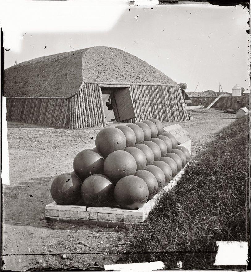 Cannonballs: 1862