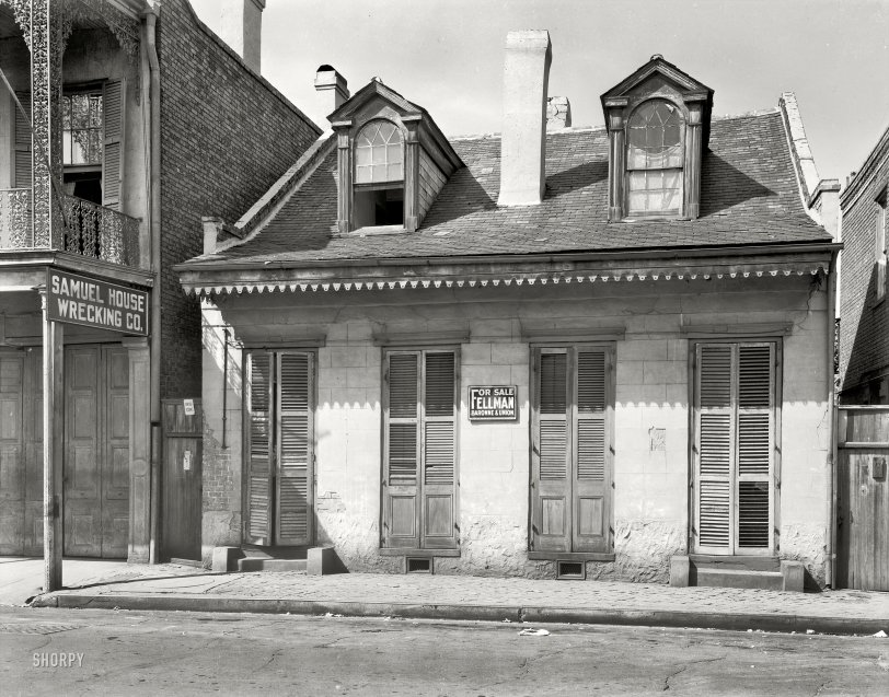 Toulouse Street: 1937