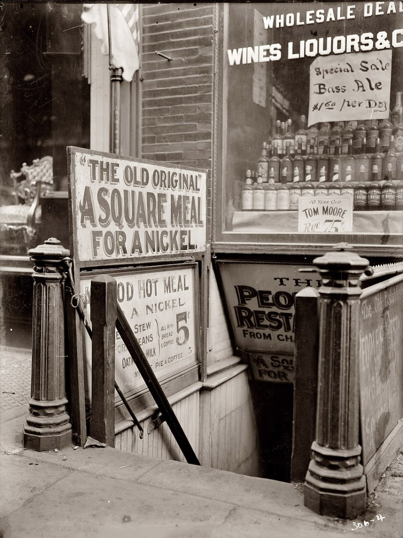 A Square Meal for a Nickel: 1910