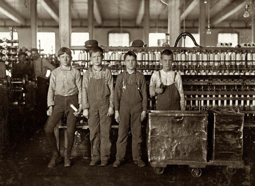 Four Doffers: 1908