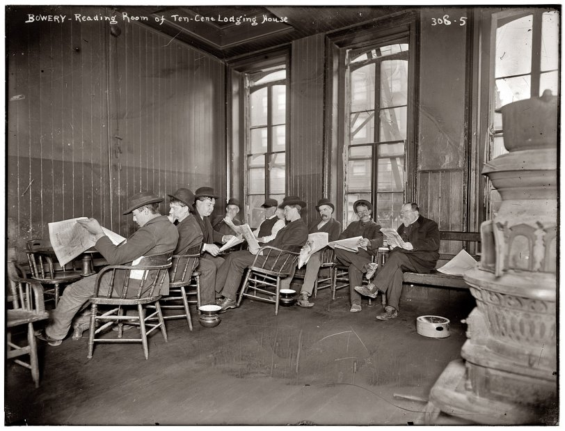 Bowery Flophouse: 1903