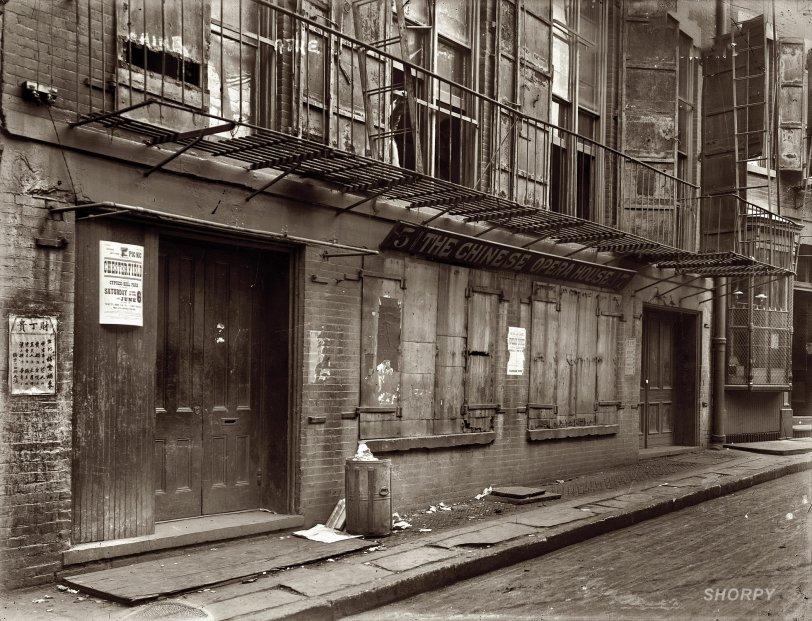 Chinese Opera House: 1908