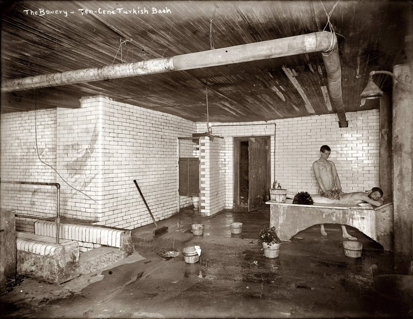 10¢ Turkish Bath: 1910