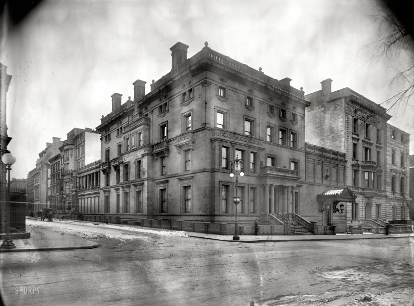 Yerkes Mansion: 1908