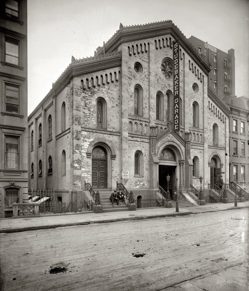 Studebaker Cathedral: 1908