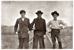 The Three Amigos: 1908