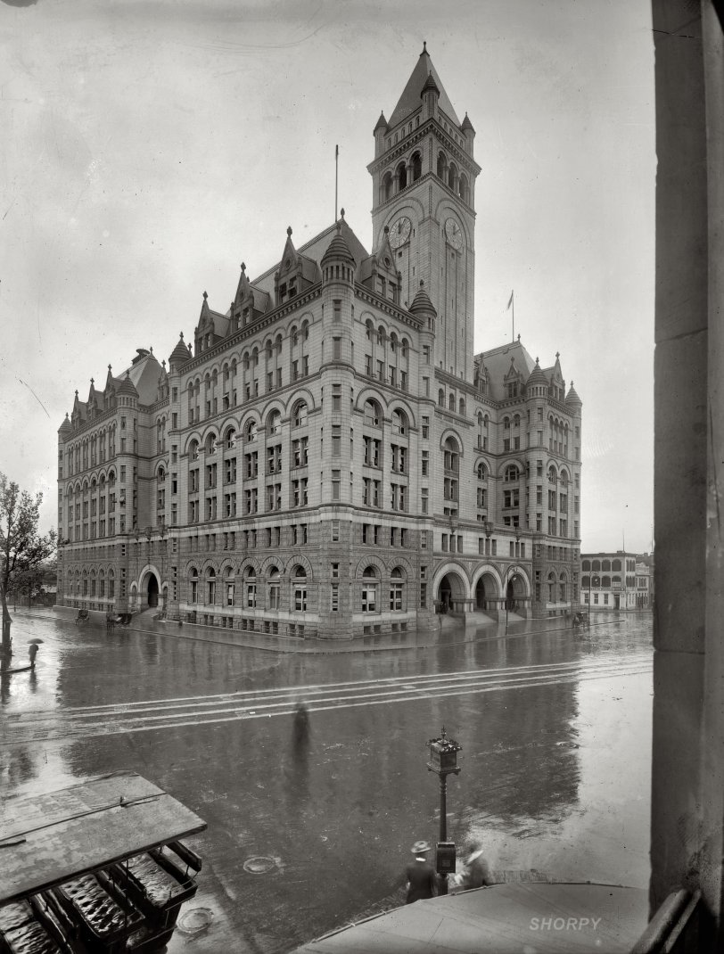 Postal Castle: 1908