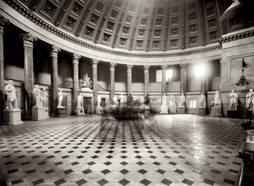 Statuary Hall: 1908