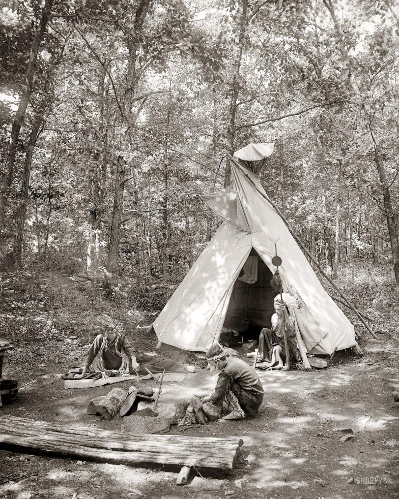 Camp Flying Eagles: 1908