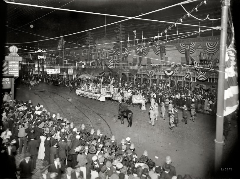 Coney Island Mardi Gras: 1908