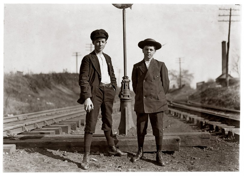 Johnnie and His Friend: 1908