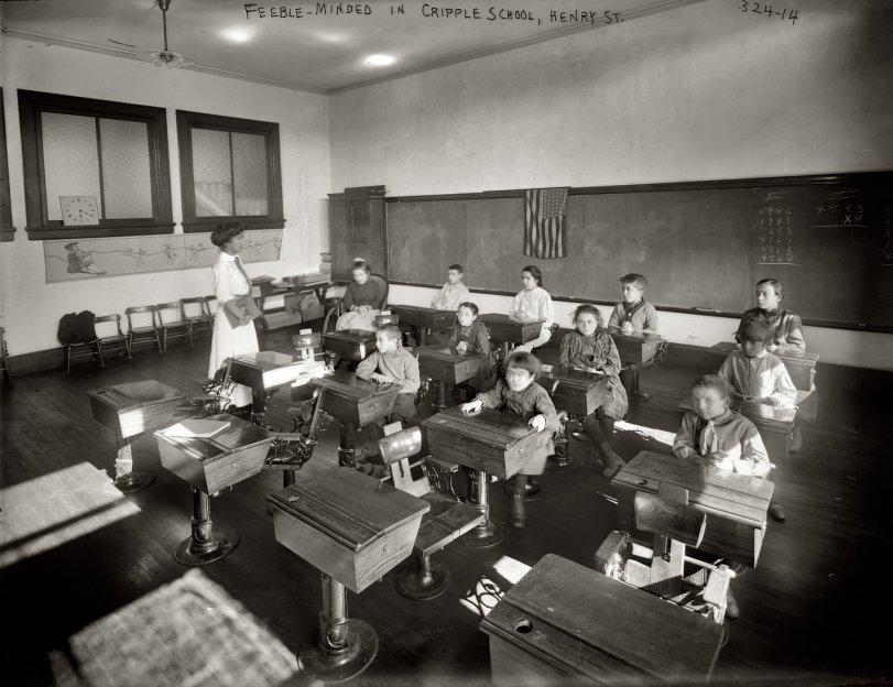 Cripple School: 1908