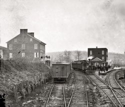 Hanover Junction: 1863