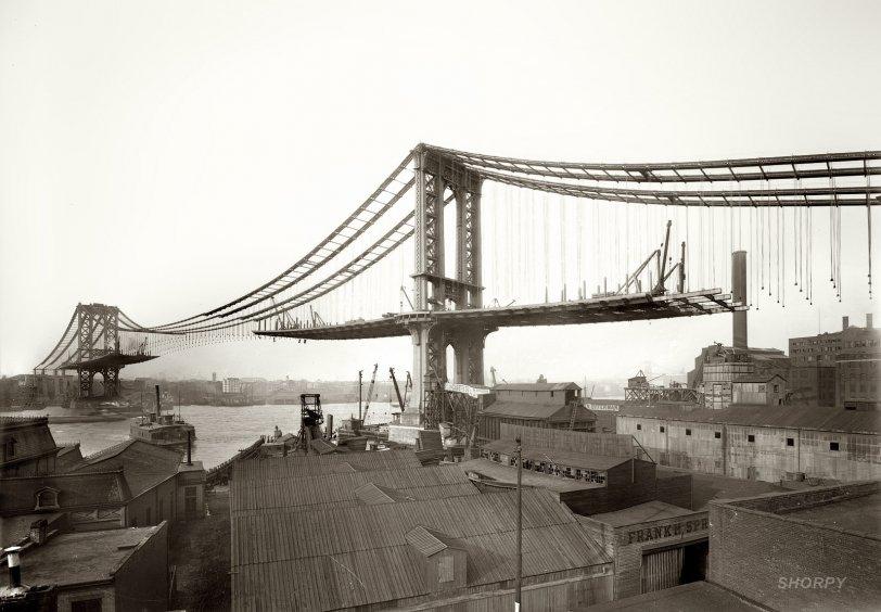 Manhattan Bridge: 1909