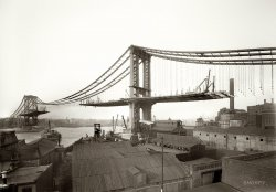 Manhattan Bridge: 1909