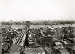 Brooklyn Bridge: 1909