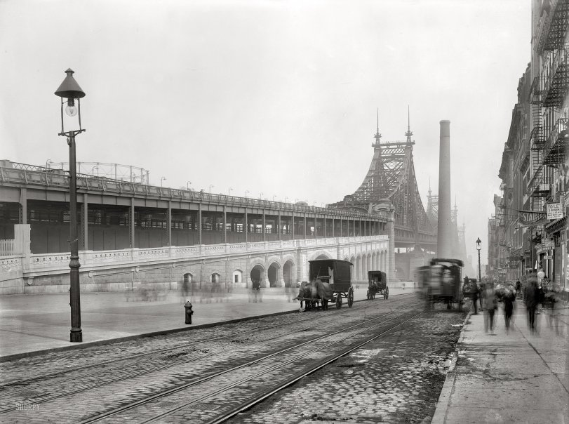 Queensboro Bridge: 1909