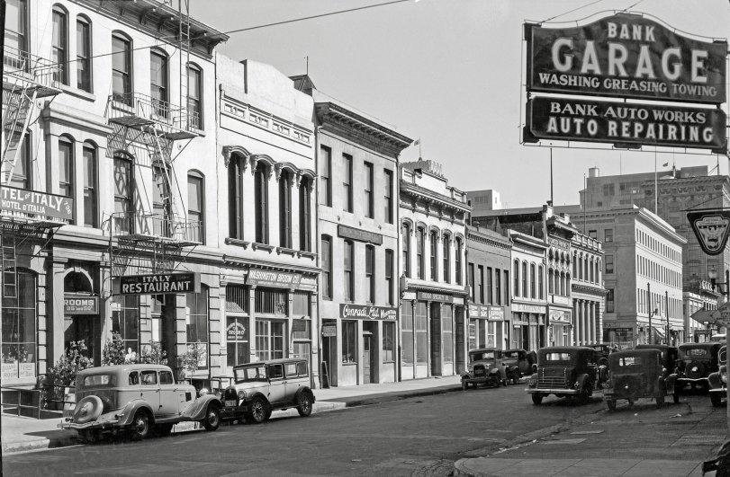 Bank Garage: 1934