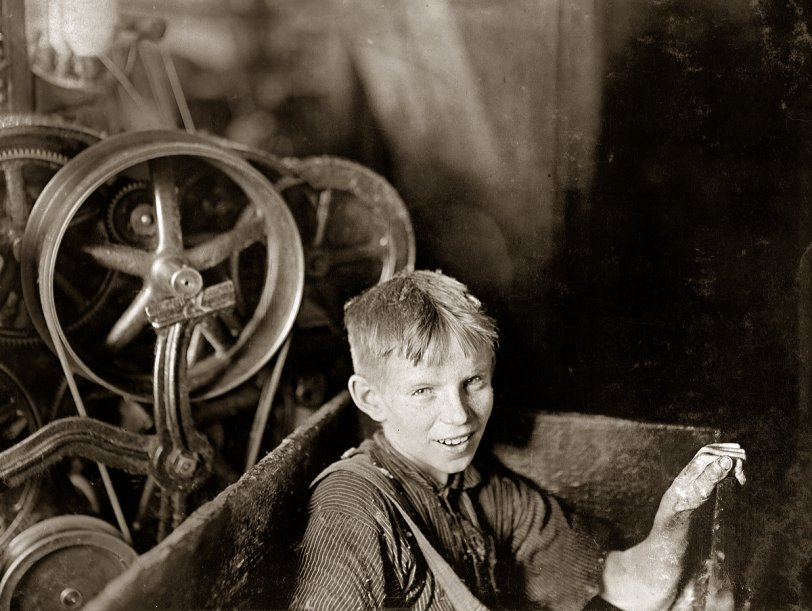 Boy in the Box: 1909