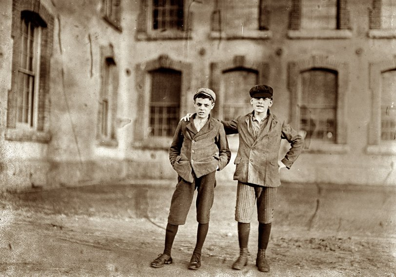 Two Boys Working: 1909