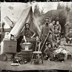 The Comforts of Home: 1861
