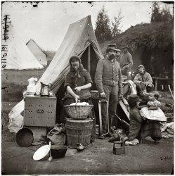 Tent Life: 1861