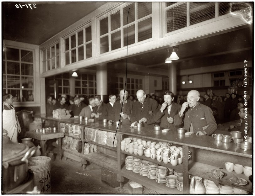 Bread and Coffee: 1909