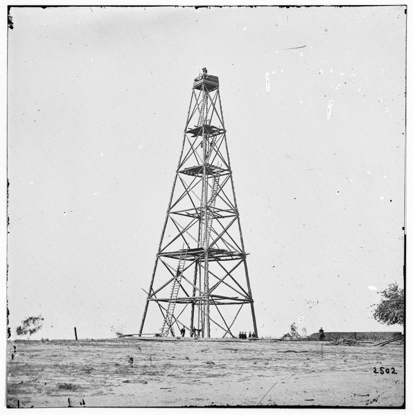 Civil War Signal Tower: 1864