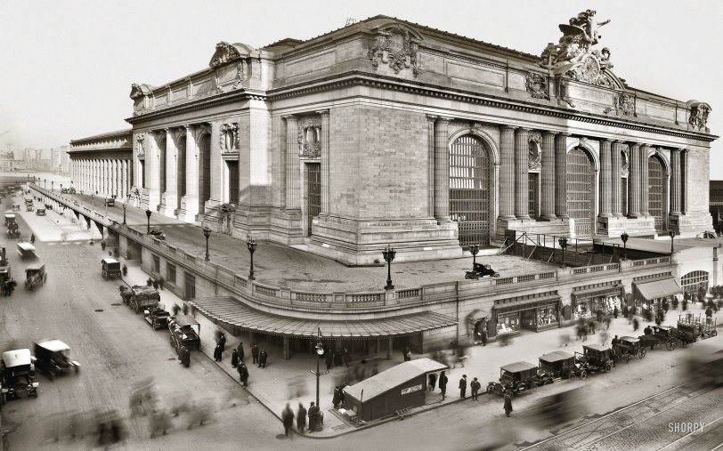 Grand Central Station: 1913