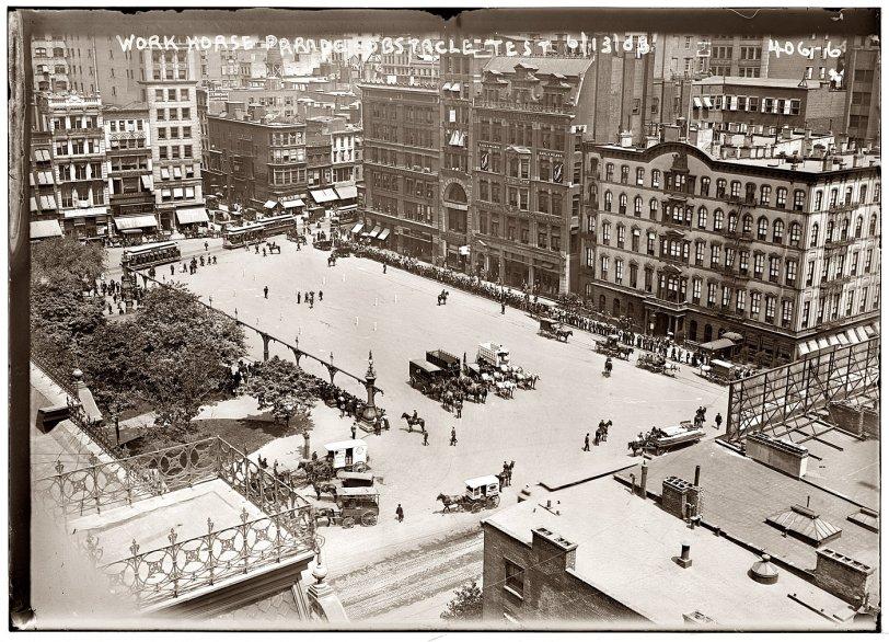 Union Square: 1908